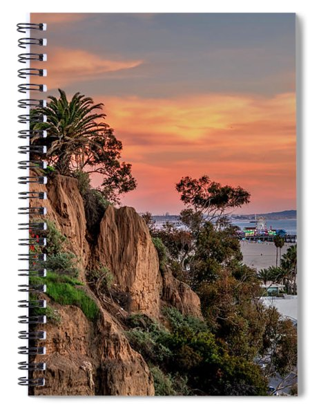 A Nice Evening In The Park Spiral Notebook