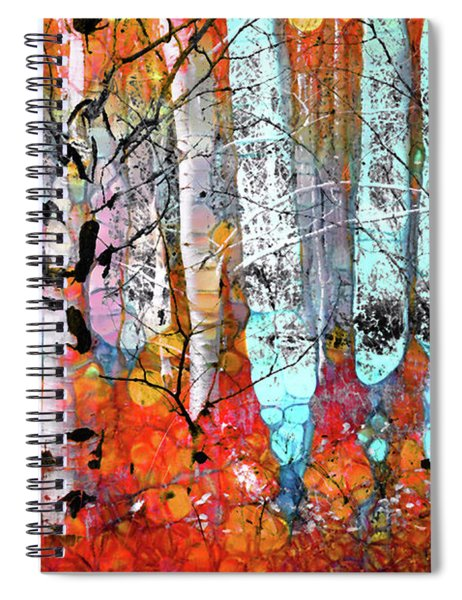 A Party In The Forest Spiral Notebook
