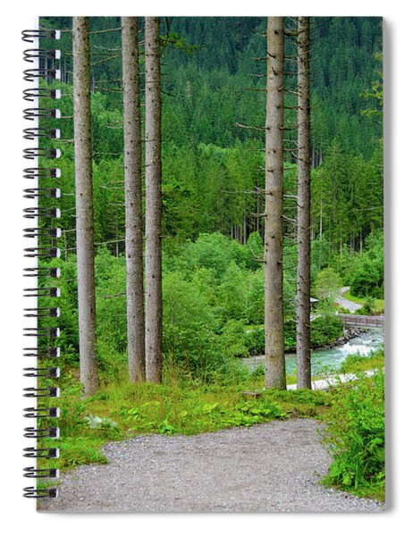 A Path To The River Spiral Notebook