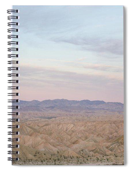 A Peaceful Desert Night No.1 Spiral Notebook