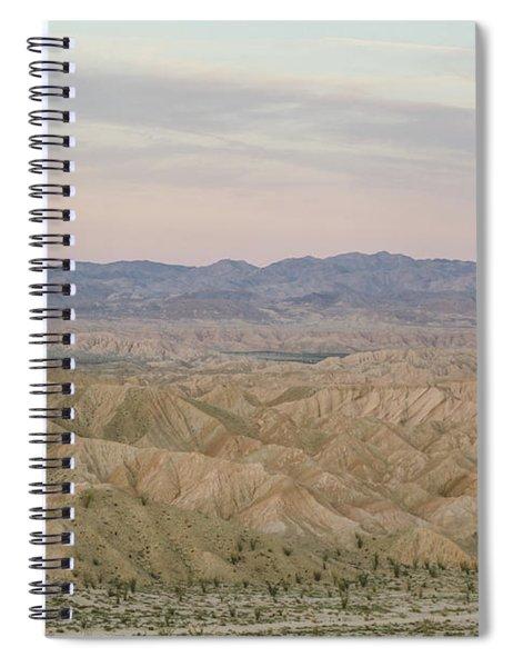 A Peaceful Desert Night No.2 Spiral Notebook