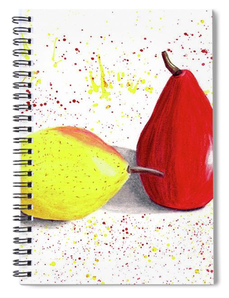 A Pear Of Friends Spiral Notebook