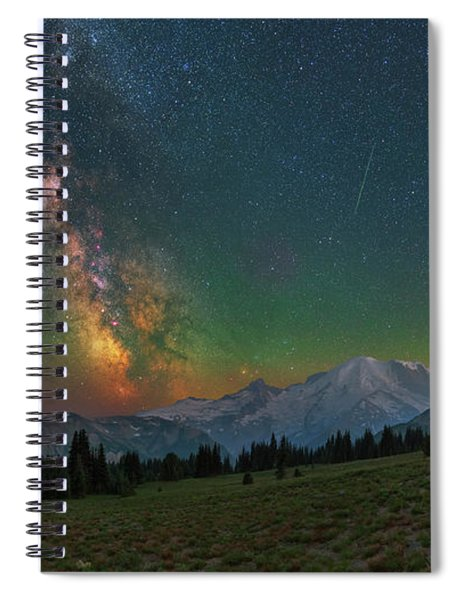 A Perfect Night Spiral Notebook