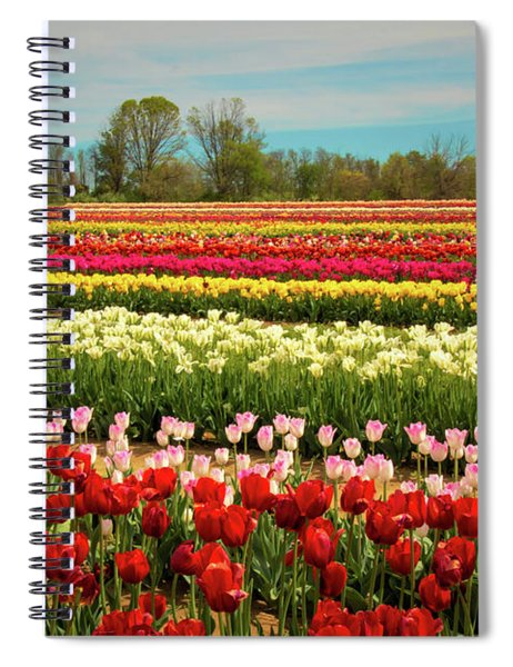 A Piece Of Holland In Jersey Spiral Notebook