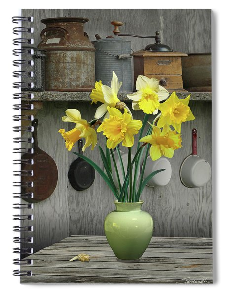 A Place For Daffodils Spiral Notebook