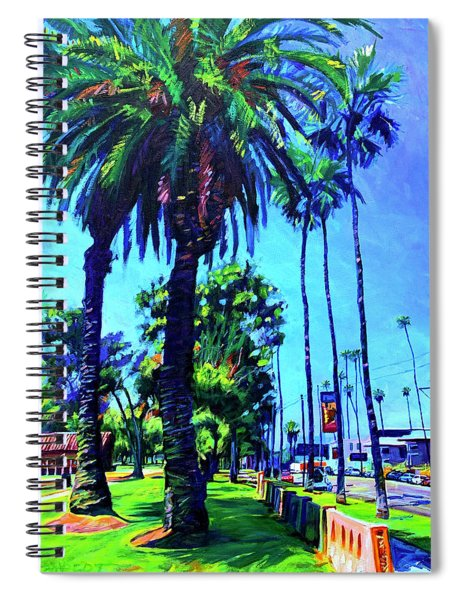A Place Of Calm Spiral Notebook