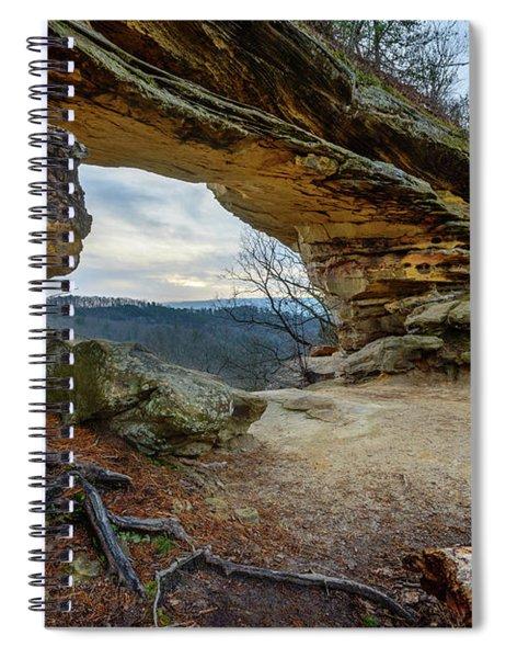 A Portal Through Time Spiral Notebook