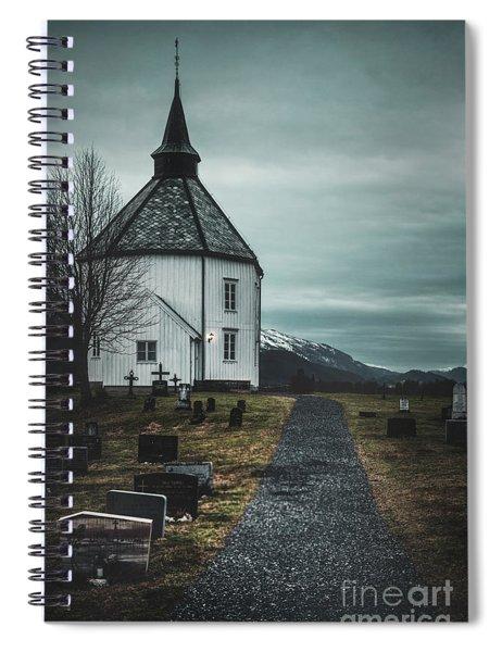 A Prayer For Time Spiral Notebook
