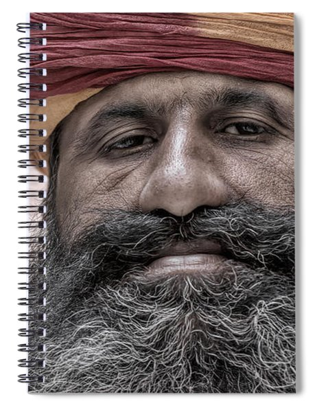A Proud Beard Spiral Notebook