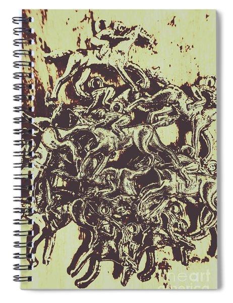 A Punters Mixed Bag Spiral Notebook