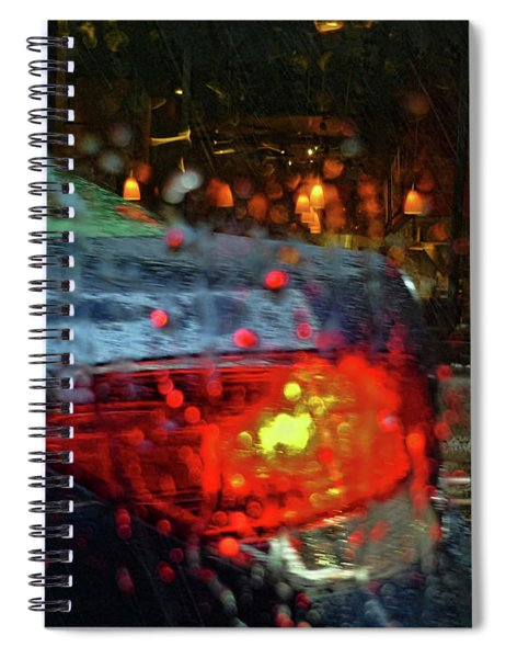 A Rainy Day In Nyc Spiral Notebook