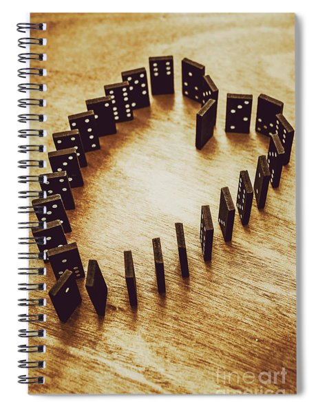 A Risk And A Chance  Spiral Notebook
