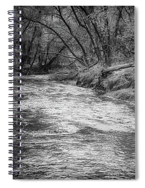 A River Running Through Spiral Notebook
