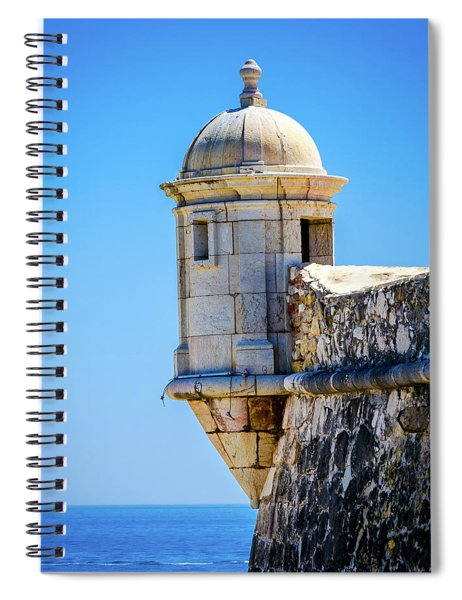 A Room With A View Spiral Notebook