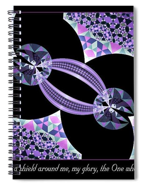 A Shield Spiral Notebook