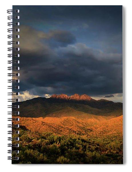 A Sliver Of Hope Spiral Notebook by Rick Furmanek