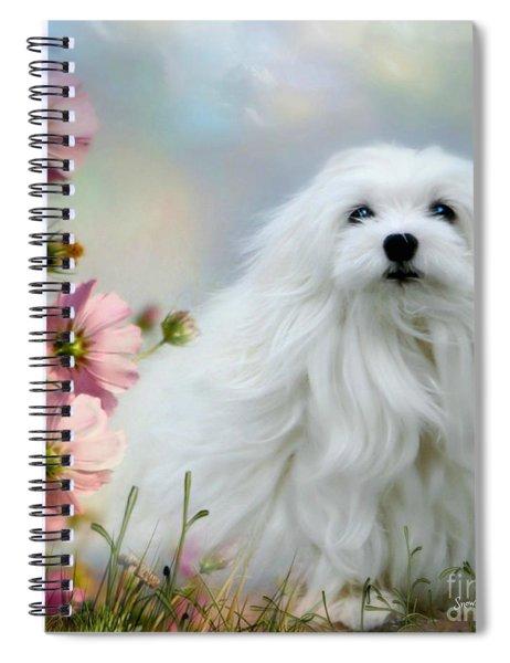 A Soft Summer Breeze Spiral Notebook