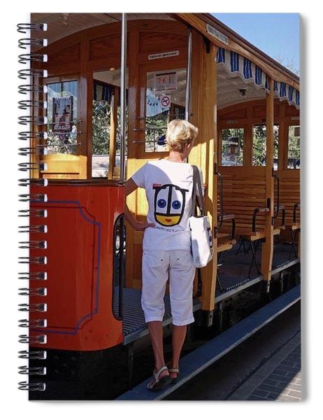 A Street Car Named Design Spiral Notebook