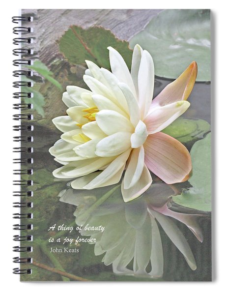 A Thing Of Beauty Is A Joy Forever Spiral Notebook
