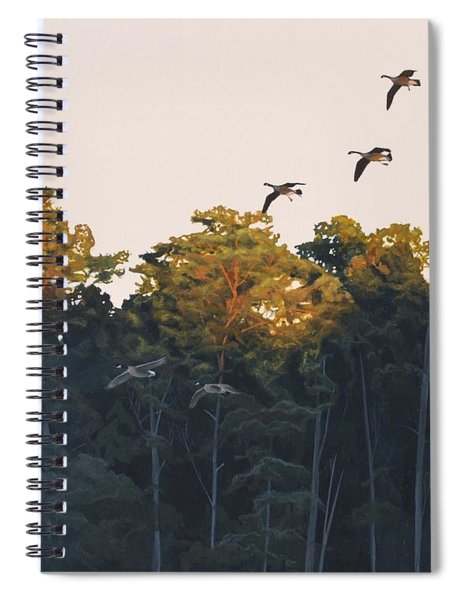 A Touch Of Gold Spiral Notebook
