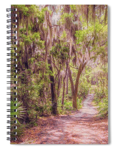 A Trail Into Time Spiral Notebook