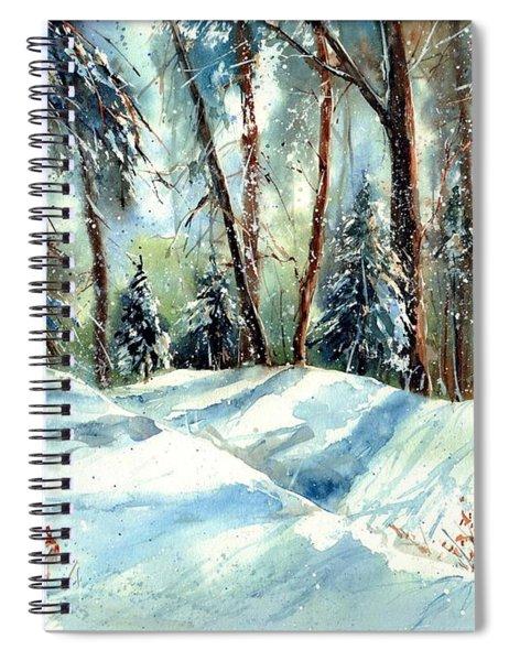 A True Winter Wonderland Spiral Notebook
