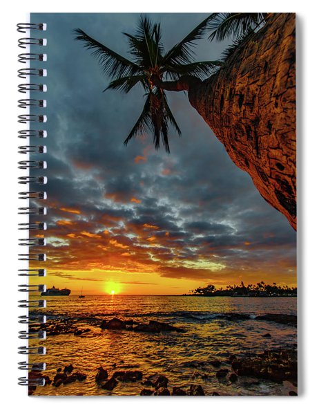 A Typical Wednesday Sunset Spiral Notebook