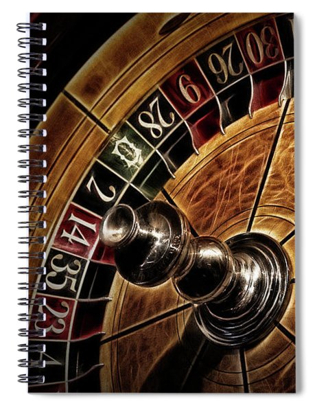 A Virginia City Roulette Wheel Spiral Notebook