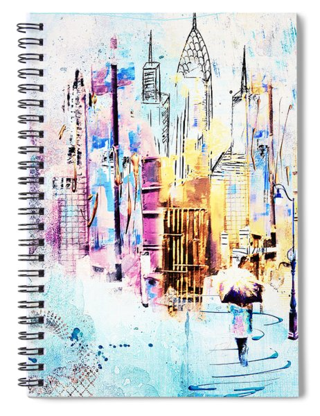 A Walk To Work Spiral Notebook