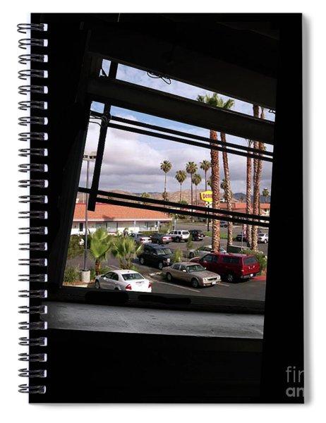 Through A Tilted Window In L. A. Spiral Notebook