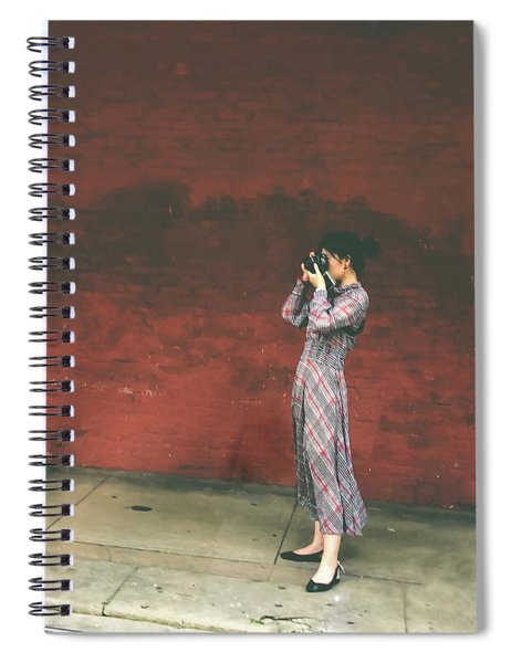 A Womans Point Of View Spiral Notebook