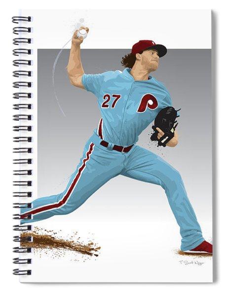 Aaron Nola Spiral Notebook