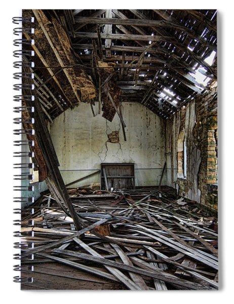 Abandoned Church #1 Spiral Notebook
