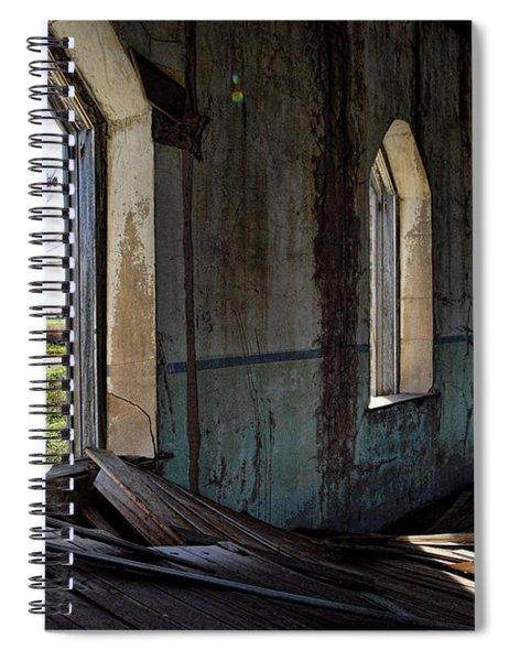 Abandoned Church #2 Spiral Notebook