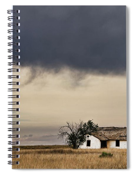 Abandoned New Mexico Spiral Notebook