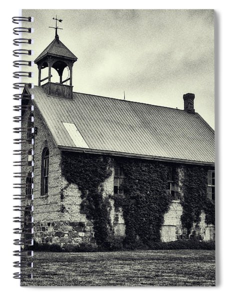 Abandoned Schoolhouse Spiral Notebook by Garvin Hunter