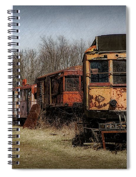 Abandoned Train Spiral Notebook
