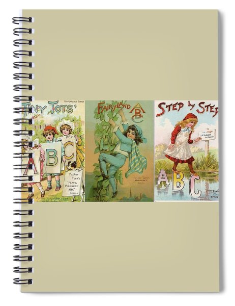 Abc Tiny Tots Mug Spiral Notebook