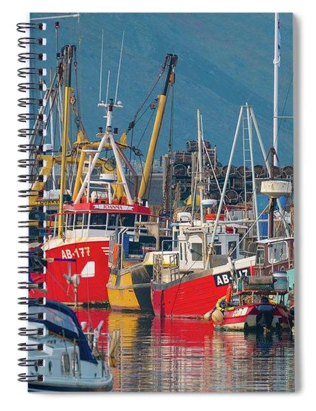 Aberystwyth Harbour Spiral Notebook