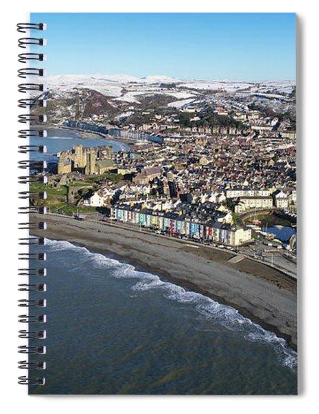 Aberystwyth In Winter Spiral Notebook