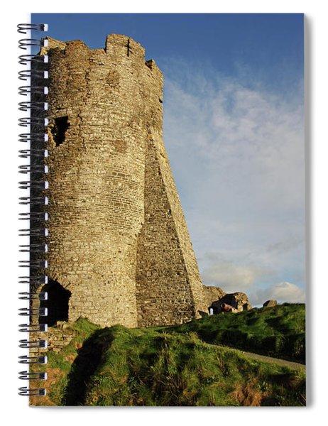Aberystwyth. The Castle Gatehouse. Spiral Notebook