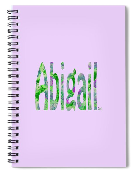Abigail Spiral Notebook