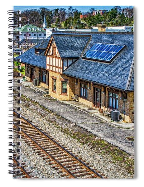 Abingdon Train Depots Spiral Notebook