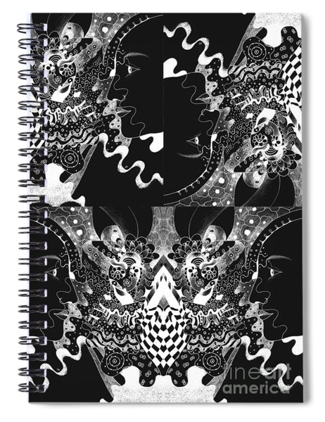 About The I In The Sky - Night Vision Spiral Notebook