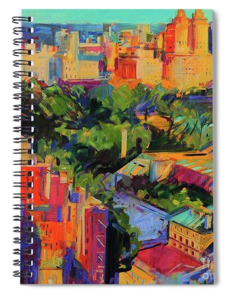 Above Central Park  Spiral Notebook