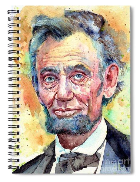 Abraham Lincoln Portrait Spiral Notebook