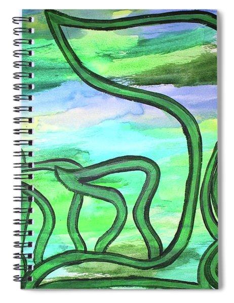Abraham Nm2-4 Spiral Notebook
