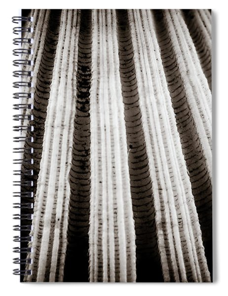 Abstract #2 Spiral Notebook