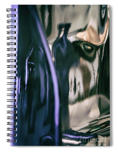 Abstract #8220 Spiral Notebook