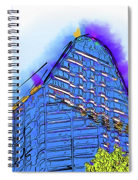 Abstract Arch Spiral Notebook